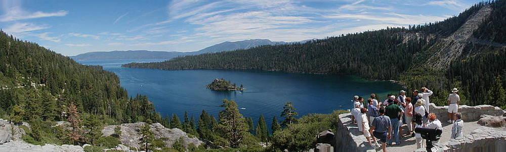 Emerald Bay at Lake Tahoe by Edward Hass