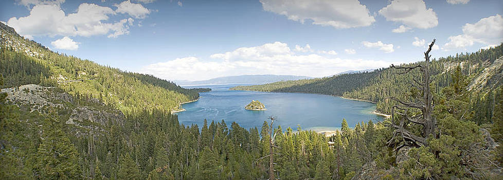 Emerald Bay Lake Tahoe by David Clark
