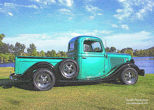 Randall Thomas Stone - Emerald Green 1936 Ford Pickup