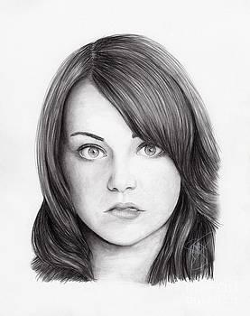 Emma Stone by Rosalinda Markle
