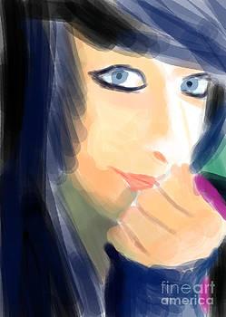 Emo girl by Michal Bounla