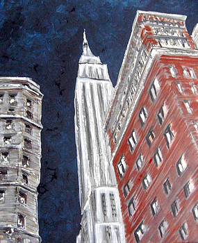 Empire State Building by Romina Diaz-Brarda