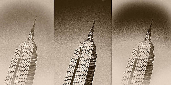Empire State Sepia by Stephen Walker