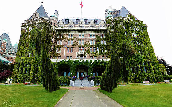 Gregory Dyer - Empress Hotel - Victoria Canada