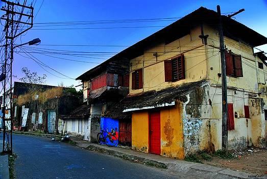 Empty Street by Vinod Nair