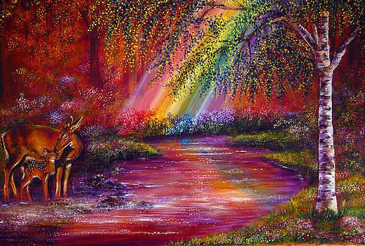 End of the rainbow by Ann Marie Bone