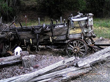 Glenna McRae - End of the Trail Oregon Conestoga Wagon