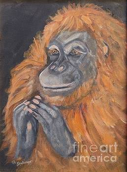 Endangered Ala Primate by Laura Spalinger
