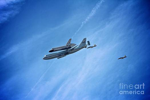 Endeavour's Last Flight by Matthew Keoki Miller