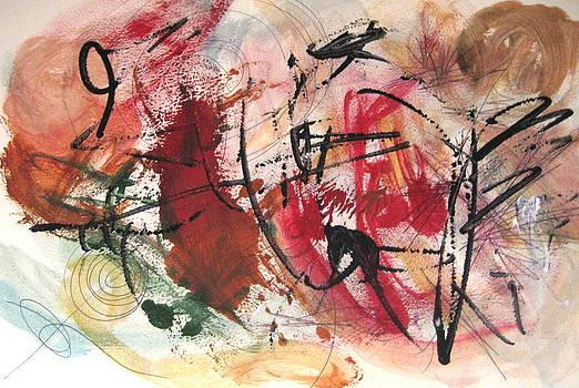 Energetic flow by Barbara Russell
