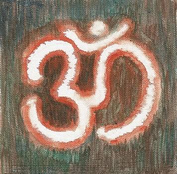 Energy Symbol Om Aum by Chintaman Rudra