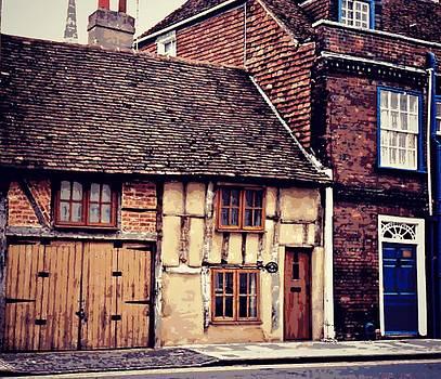 Marilyn Wilson - English Buildings - textured
