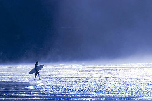 Entering The Blue by Brian Bonham