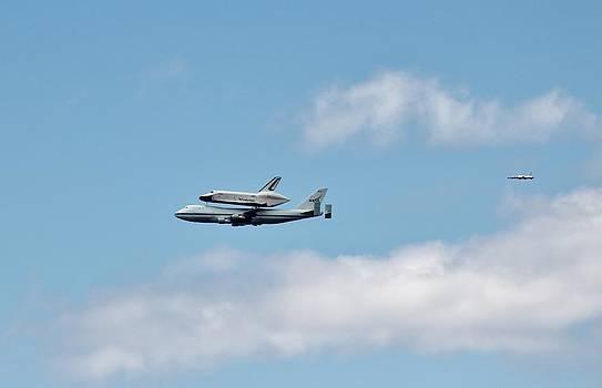 Enterprise Flyby by Rita Tortorelli