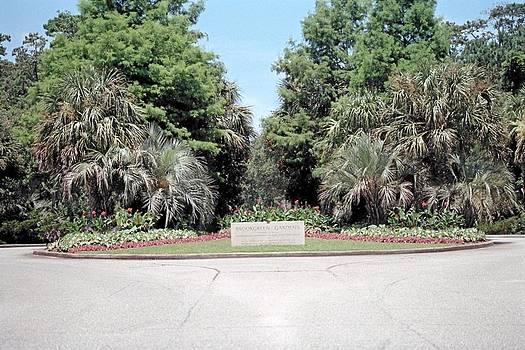 Lee Hartsell - Entrance to Brook Green Garden