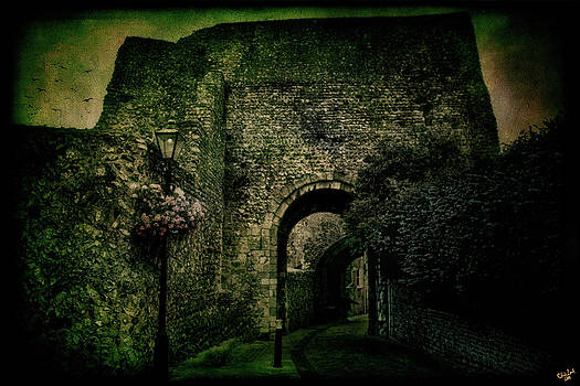 Chris Lord - Entrance To Lewes Castle