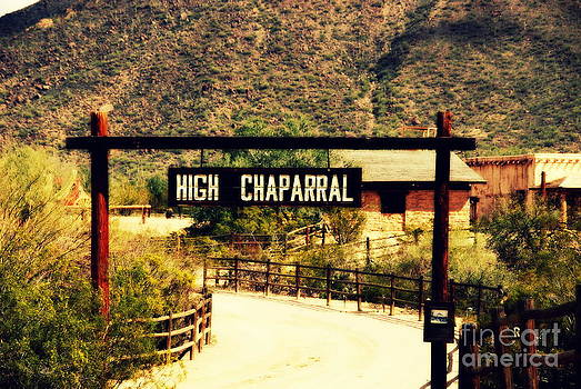 Susanne Van Hulst - Entrance to the High Chaparral Ranch