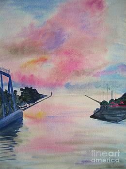 Judy Via-Wolff - Entry to Lake Ontario