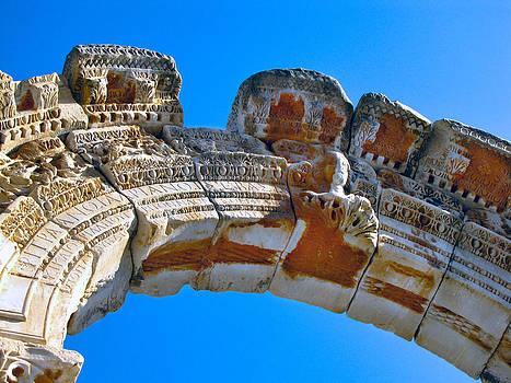 Ephesus Arch by Diane Geddes