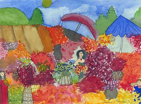 Equadorian Flower Market by Susan Risse