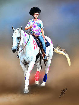 Equestrian Competition II by Tom Schmidt