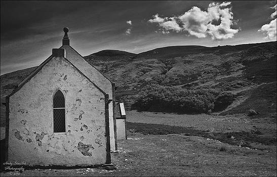 Eriboll Kirk bw by Andy Stuart