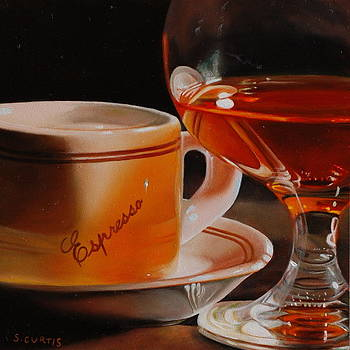 Espresso And Brandy  by Stuart Curtis