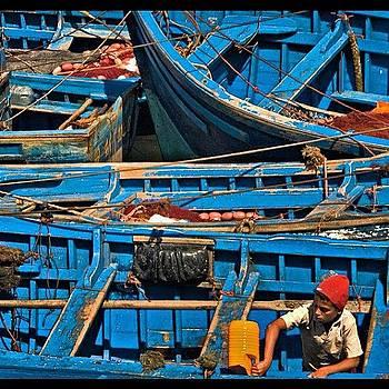 Essaouira  Harbor by Felice Willat