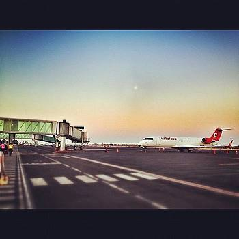 Estafeta #airport #plane #hdr #sunrise by Maura Aranda