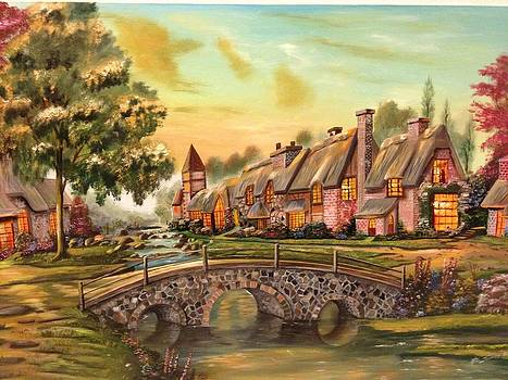 European Village by Biren Biren