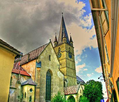 Evanghelic Cathedral Sibiu by Aliman  Samuel