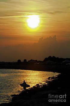 Deborah Benoit - Evening Beach Sun