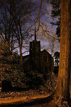 Evening Church by Richard McRee