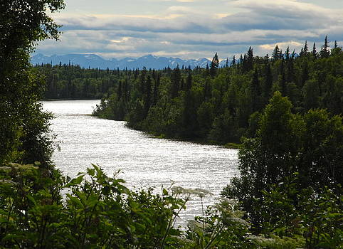Evening on the Kenai by Claire Pridgeon