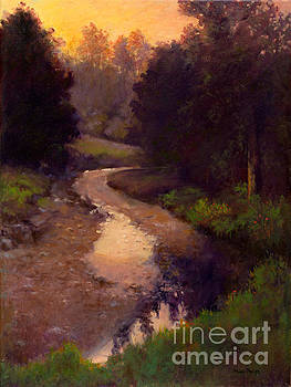 Evening Stream by Mary Phelps