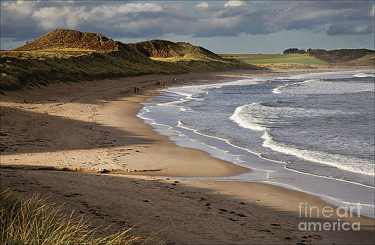 Evening Stroll Embleton Sands by George Hodlin