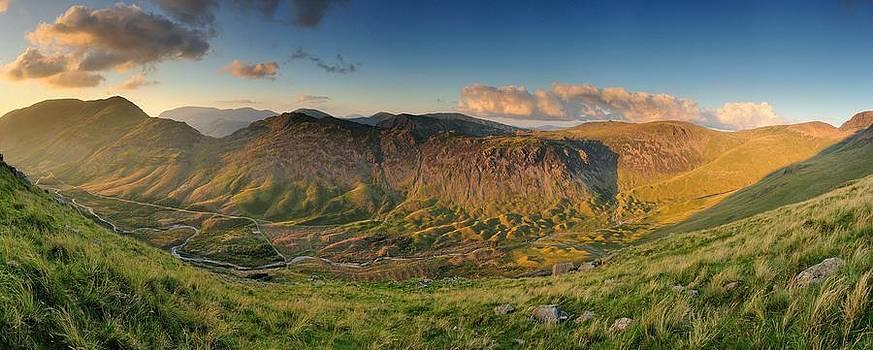 Evening sunlight Ennerdale Valley by Stewart Smith