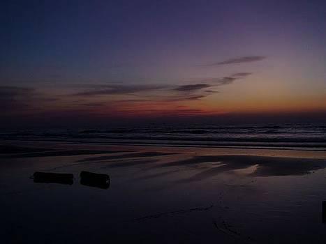 Evenning at the shore by Vallari Pradhan