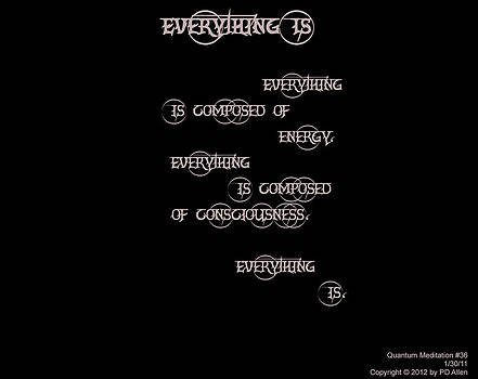 Everything Is by PD Allen