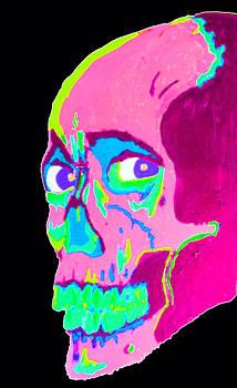 Evil Dead 2 Psychedelic by Manik Designs