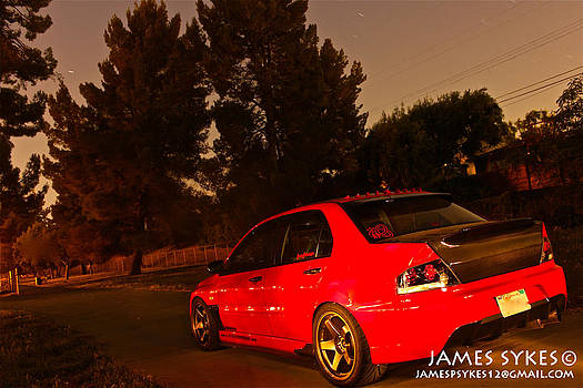 Evo 9 Rs by James Sykes