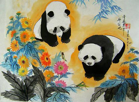 Exotic Flowers by Lian Zhen