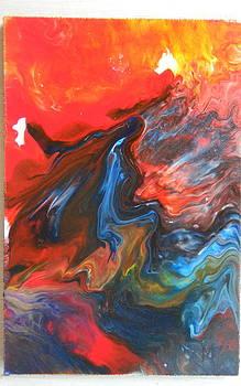 Explosion1 by Gilberte Figaroli
