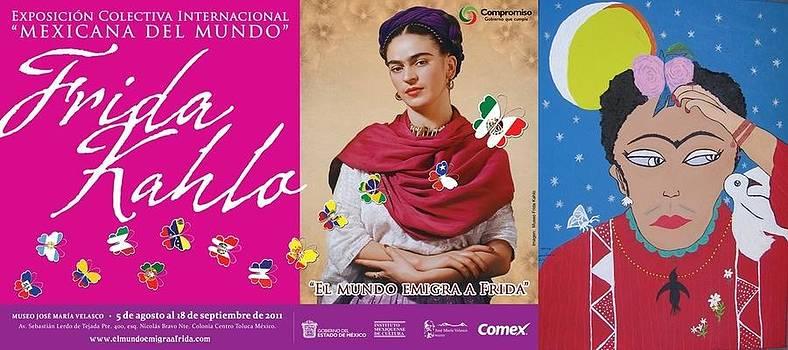 Expo Internacional Colectiva Frida by Maria tereza Braz