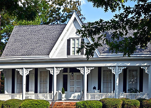 Exterior of Victorian Style House by Susan Leggett