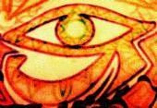 Eye of Horus by Shooting Star