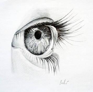 Eye study by Eleonora Perlic