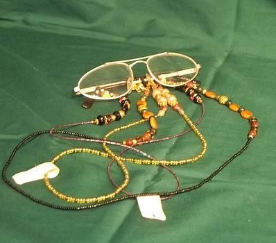Eyeglass Chains by Carolyn Kelly