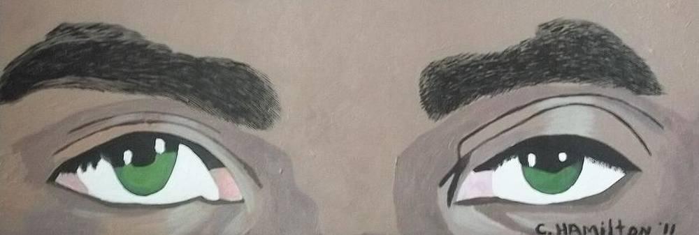 Eyes by Christine Hamilton Kourou