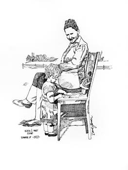 David Lloyd Glover - Ezra Pound 1927